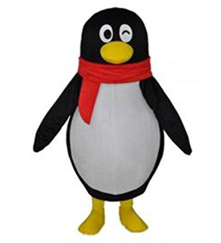 MascotShows QQ Penguin Mascot Costume Adult Size Fancy Dress Suit (Penguin Mascot Costume)