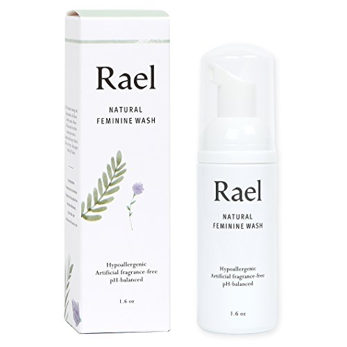 Rael Natural Feminine Cleansing Wash - 3 Packs | for Sensitive Skin - Light and Fresh Scent