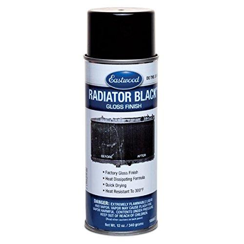 Eastwood Acrylic Air Condenser Radiator Black Gloss Lacquer Paint Aerosol 12 oz