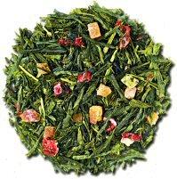 - Long Island Strawberry Sencha Green Tea 16 oz (1 lb) bag of loose tea
