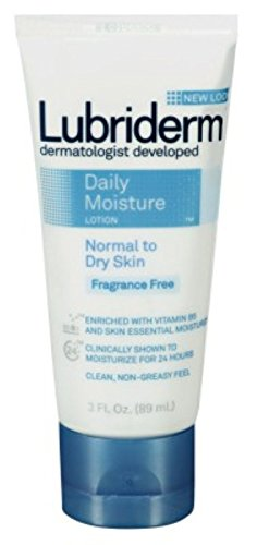 Lubriderm Daily Moisture Lotion Fragrance-Free 3oz Tube