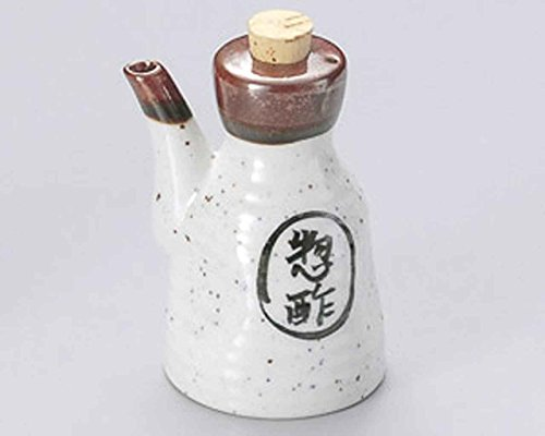 Nashiji 2.9inch Set of 5 Soy Sauce Dispensers White porcelain Made in Japan by Watou.asia