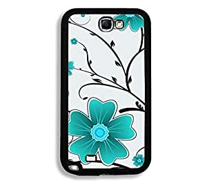 Flower Pattern Thinshell Case Protective Note 2 Case