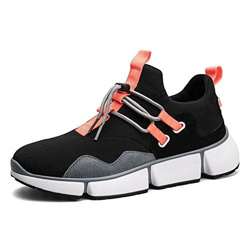 Hombres Choque Absorbente Aire Corriendo Entrenadores Para caminar Trotar Gimnasio Aptitud Entrenador Chico Casual Deportes Zapatos Orange