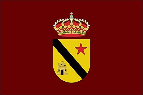 DIPLOMAT-FLAGS Jódar Jaén, Andalucía, España Bandera | bandera paisaje | 0.06m² | 20x30cm Banderas de Coche