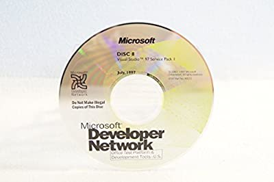 Microsoft Developer Network Visual Studio 97 Service Pack 1-Disc #8 Part Number: 99172-Date: July 1997-PC Computer Software Program-Single Replacement Disc