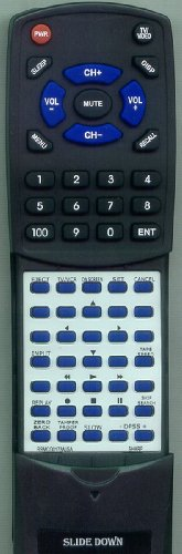 ADMIRAL Replacement Remote Control for 62376430, VCH973U, JSJ20451, VCA573U (Admiral Tv Remote compare prices)
