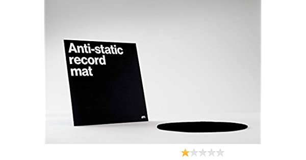 AM Clean Sound - Alfombrilla antiestática para discos de vinilo ...