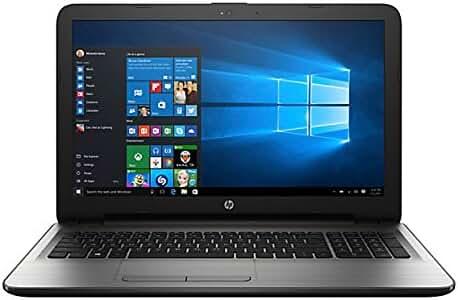 2017 HP 15.6 inch Premium HD Laptop, Latest Intel Core i5-7200U 2.5GHZ, 8GB DDR4 RAM, 1TB HDD, HDMI, Bluetooth, SuperMulti DVD, WiFi, HD Webcam, Windows 10- Silver