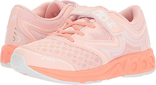 ASICS Kids Baby Girl's Noosa PS (Toddler/Little Kid) Seashell Pink/Begonia Pink/White 1 M US Little Kid