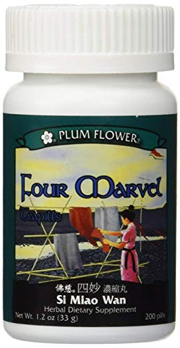 (Plum Flower Four Marvel Teapills (Si Miao Wan), 200 ct, 3 Pack (200 Count))