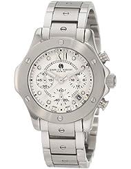 Charles-Hubert, Paris Womens 6782-W Premium Collection Stainless Steel Chronograph Watch