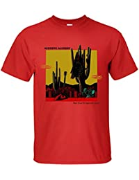 Men's Acoustic Alchemy Red Dust & Spanish lace T-Shirt red