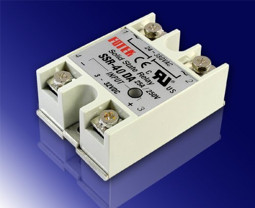 Lightobject ESSR40DAC Solid State Relay DC In AC Out 40 amp Buy