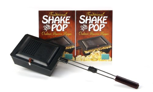Outdoor Popcorn Popper made our list of Campfire Cooking Equipment You Can't Live Without with the best tools, accessories, utensils and cookware for your camp cooking creations!