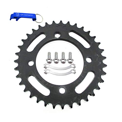 TC-Motor 428 76mm 35T Rear Sprocket For Chinese 50cc 70cc 90cc 110cc 125cc 140cc 150cc 160cc 170cc 190cc Pit Dirt Motor ()
