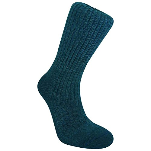 Bridgedale Men's Comfort Trekker Socks, Navy, M