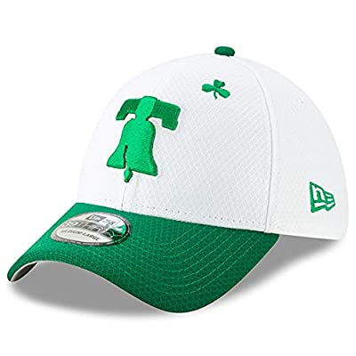 New Era Men's Philadelphia Phillies White/Kelly Green 2019 St. Patrick's Day 39THIRTY Flex Hat