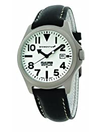 Momentum Men's 1M-SP00W2B Atlas Classic Field Watch with Oversize Numbers and Date Watch