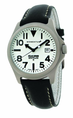Momentum Men's 1M-SP00W2B Atlas Classic Analog with Titanium dial Watch