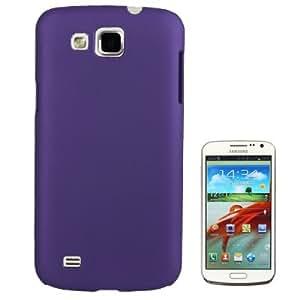 LambeMuCom - Smooth Pure Colour Plastic Case for Samsung Galaxy Primier / i9260 (Purple)
