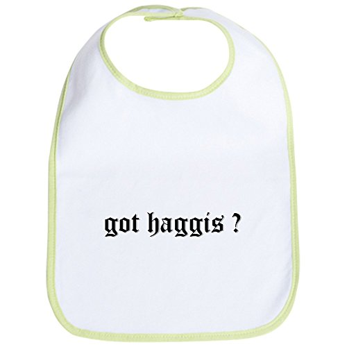 CafePress - got haggis ? Bib - Cute Cloth Baby Bib, Toddler (Celtic Clothing Kilt Accessories)
