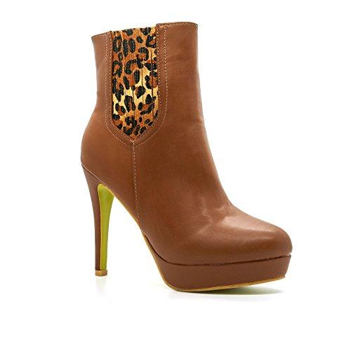 London Footwear ,  Damen Chelsea Boots Braun