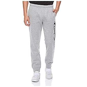 Champion-212080-Rib Cuff Pants For Men - Grey L