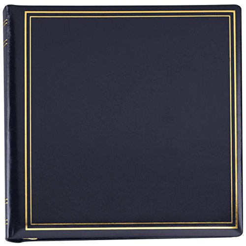 Personalized Presidential Oversize Album-Navy 2 Lines by Exposures