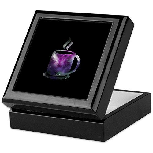 CafePress General Hospital Galaxy Keepsake Box, Finished Hardwood Jewelry Box, Velvet Lined Memento Box