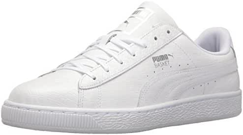 PUMA Men's Basket Classic B&W Fashion Sneaker