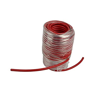 TEMCo WC0024-10 ft 2//0 Gauge AWG Welding Lead /& Car Battery Cable Copper Wire RED MADE IN USA
