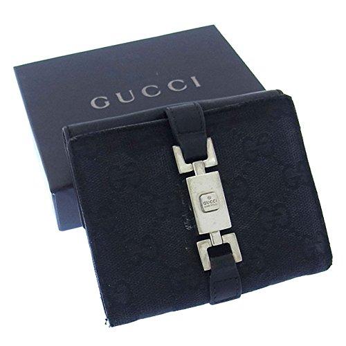 グッチ レザー 財布(ホック式小銭入れ付き)ジャッキー 035-2129