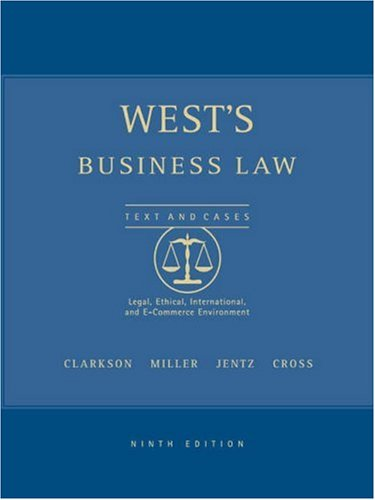 West's Business Law, Interactive CD-ROM