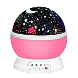 Our Day Night Light Moon Star Projector 360 Degree Rotation Unique Best Gifts for Kids