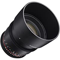 Rokinon Cine DS DS85M-NEX 85mm T1.5 AS IF UMC Full Frame Cine Wide Angle Lens for Sony E