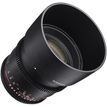 Rokinon Cine DS DS85M-N 85mm T1.5 AS IF UMC Full Frame Cine Fixed Lens for Nikon