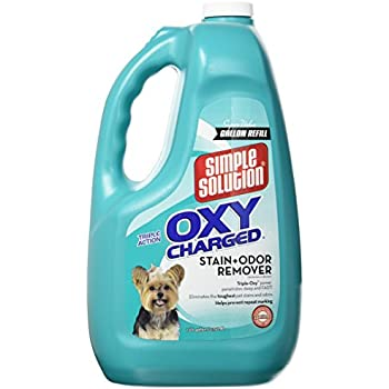 Simple Solution Oxy Charged Pet Stain and Odor Remover, USA Made