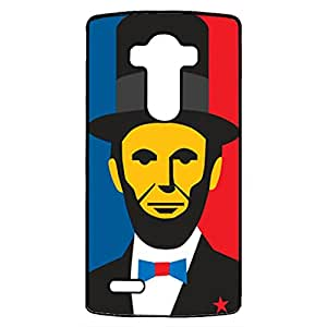 Fashion Cute Great President Abraham Lincoln Phone Case Cover for LG G4 Abraham Lincoln Uniuqe