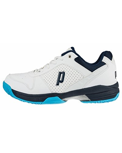 Prince Advantage Lite Mens Tennis Shoes White/Navy (Prince Mens Tennis Shoes)