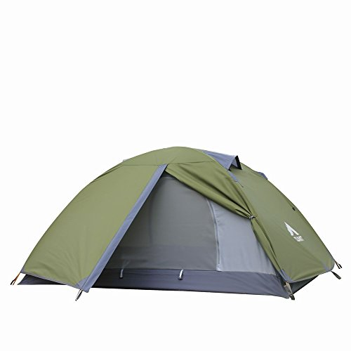 ZUMIT 1 Person Backpacking Tent Waterproof Mountaineering Tent 2 Person Tent #602