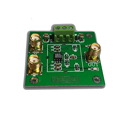 Taidacent AD835 4-Quadrant Analog Multiplier Module Voltage Output Signal Conditioning Phase Detection Measurement Four Quadrant Multiplier Mixing