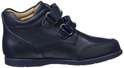 Garvalín 161401, Zapatillas Altas para Niñas Azul Marino (Sauvage)