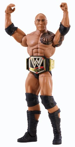WWE Elite Collection Series 22 The Rock Action
