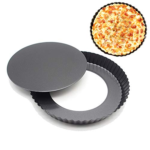 tick With Removable Bottom Cake Mold Pizza Pan DIY Bakeware Baking Mold Christmas Baking Dishes ()