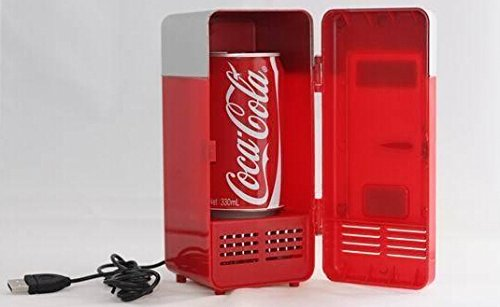 Generic Mini USB Fridge (RED) by Generic