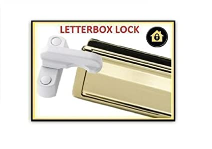 Letterbox Security Cover Guard. Letterbox Swing Lock Door Security ...