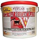 Heat Resistant Plaster 650 C 10kg Tub by Vitcas
