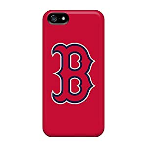 Premium Protection Baseball Boston Red Sox 5 Cases Covers For Iphone 5/5s- Retail Packaging