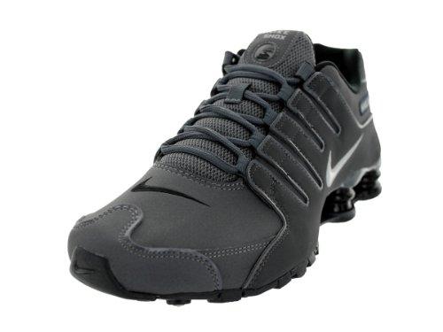 Nike Mens Shox Nz Sl Scarpe Da Corsa Grigio Scuro / Antracite / Nero / Ferro Metallico